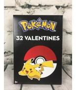 Pokemon Valentine's Day 32 Cards Pikachu Charizard School Crafts Friends... - $14.80