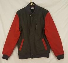 NIKE Mens L British Millerain Destroyer Wool Coat Jacket BMR - $139.89
