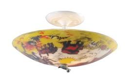 Elk 66404-3 Kidshine 3-Light Flush Mount, 17-Inch, White - €64,44 EUR