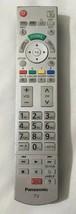 Panasonic TV  Remote (N2QAYB) Silver Genuine OEM Free Shipping - $14.33
