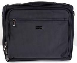 NEW US LUGGAGE CARRYALL LAPTOP TRAVEL BAG PORTFOLIO BRIEFCASE BLACK #B110
