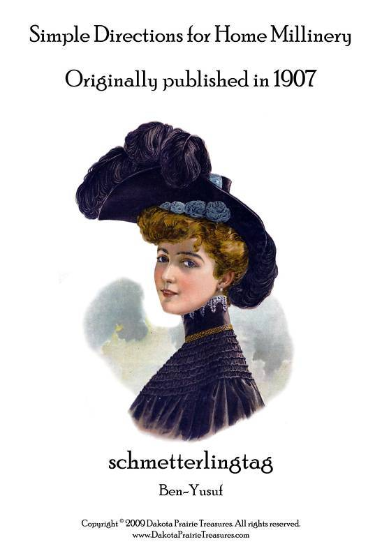 Millinery Book Hat Making Make Gibson Girl Hats How1907 Bonanza