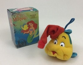 Flounder Plush Ornament Christmas The Little Mermaid McDonald's Vintage ... - $10.84