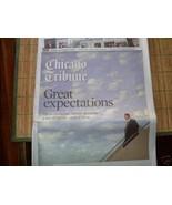 BARACK OBAMA GREAT EXPECTATIONS CHICAGO TRIBUNE 11 9 2008 - $30.17