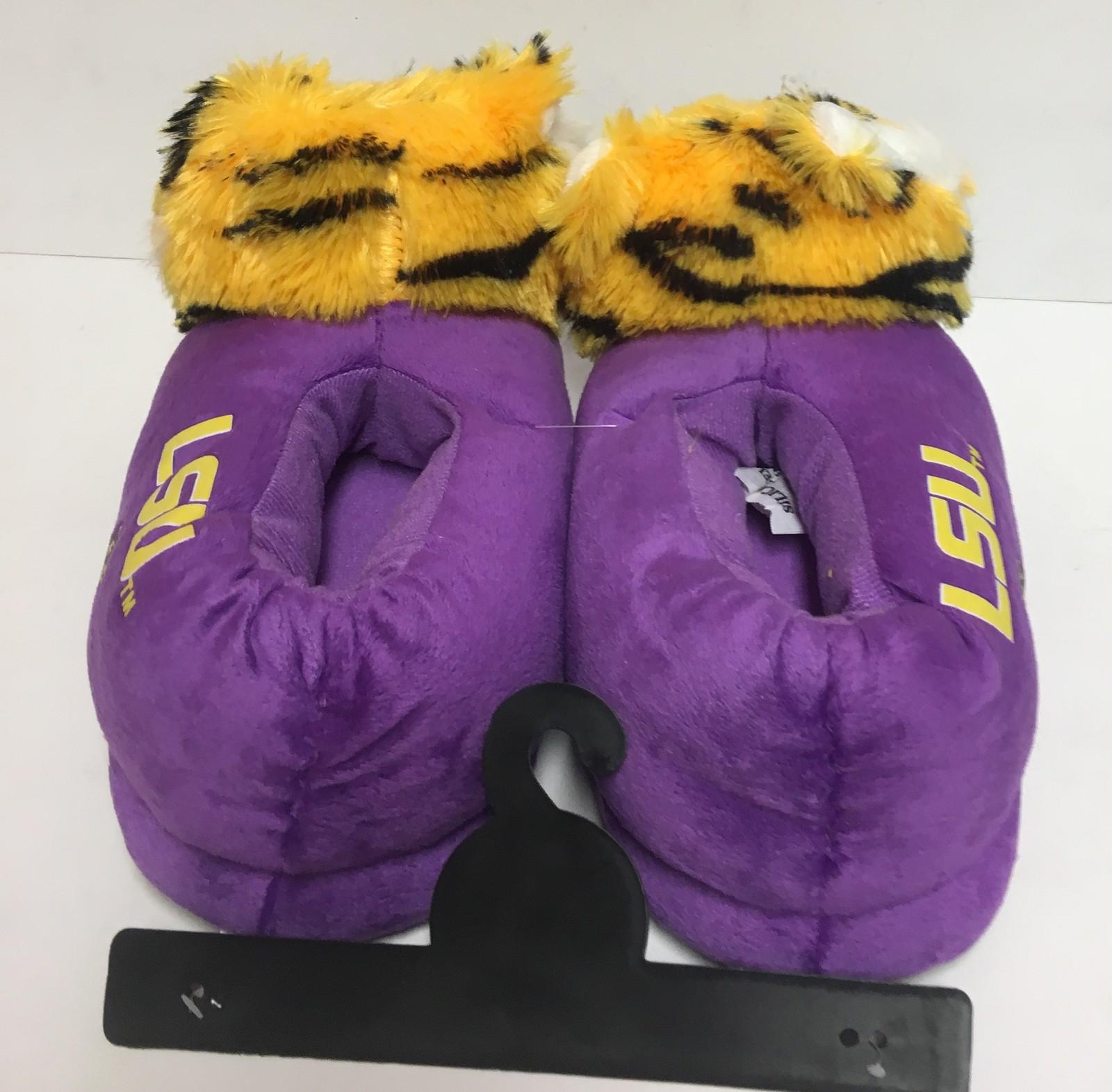 LSU Louisiana State University Women'a Slippers Many Sizes Purple Tigers image 6