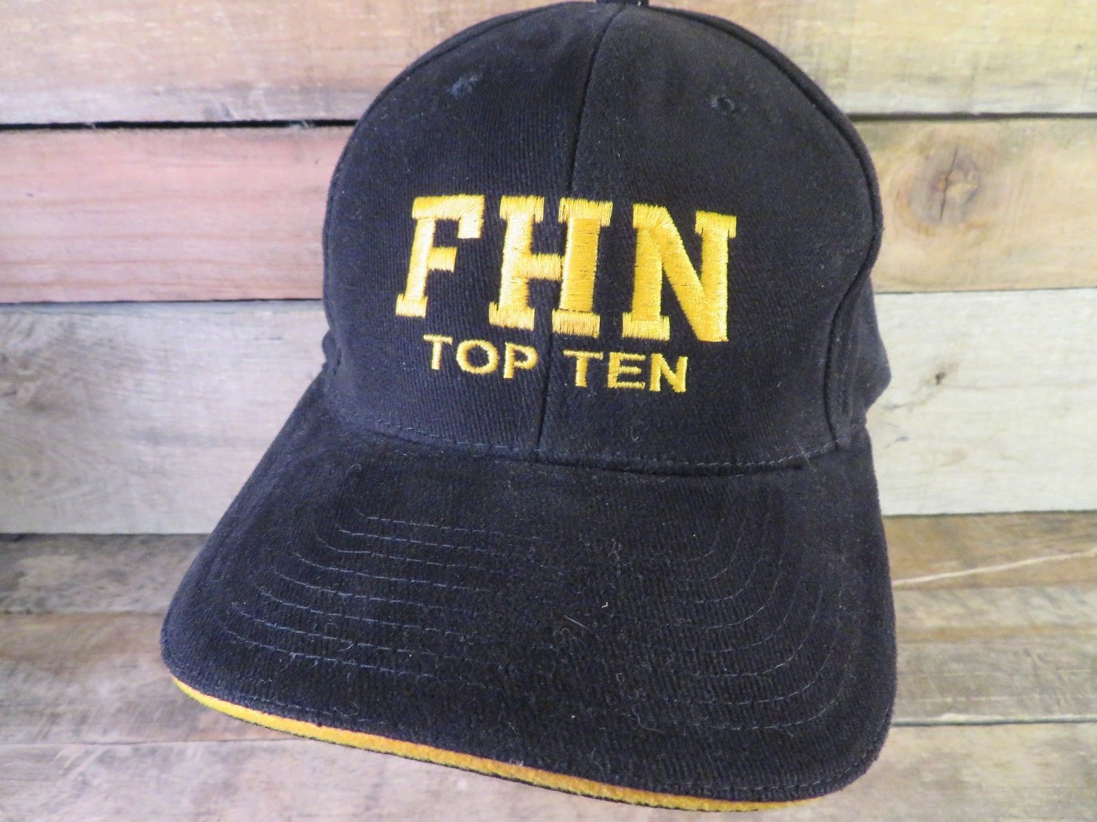 Primary image for FHN Top Ten Francis Howell North High School Black Adjustable Adult Hat Cap