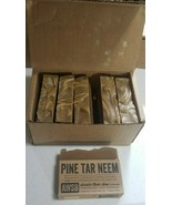 Box of 6 - Scratch Made Soap - PINE TAR NEEM - AWSB - 3.5 Oz. each bar -... - $25.43