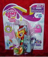 My Little Pony G4 Rainbow Dash masquerade Mask Crystal Empire FiM HUB ML... - $10.00