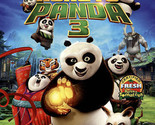 Kung Fu Panda 3 (Blu-ray/DVD, 2016, 2-Disc Set) Children & Family Movie