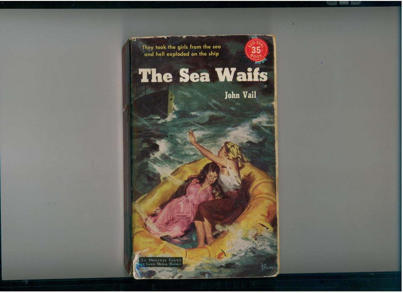 Vail - THE SEA WAIFS - 1952 Red Seal pb - uncommon