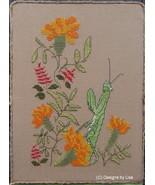Praying Mantis cross stitch chart Designs by Lisa - $6.30