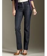 Nwt TALBOTS Signature fit straight leg blue jea... - $59.99