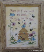 Blessings For All cross stitch chart Designs by Lisa - $7.20