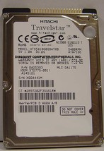 """NEW 60GB IDE Hitachi HTS541060G9AT00 44PIN 2.5"""" 9.5MM hard drive Our Drives Work"""