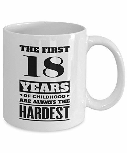 Primary image for BirthdayMugs - The First 18Years of Childood Coffee Mugs - Wonderful 18th Birthd