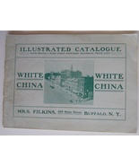 Filkins white china catelog 1890 painting Buffalo NY Victorian painting - $32.50