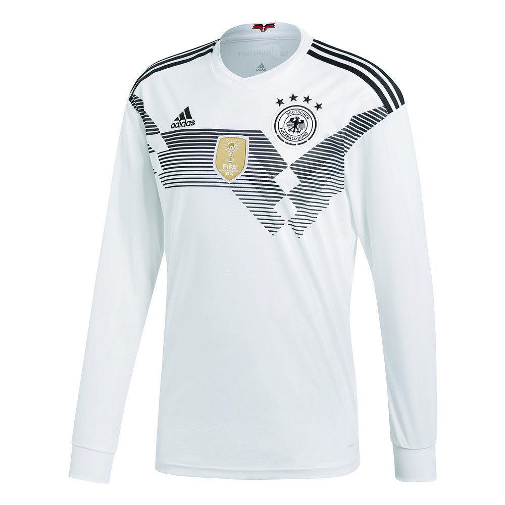 a3e12a63e ADIDAS JULIAN DRAXLER GERMANY LONG SLEEVE HOME JERSEY FIFA WORLD CUP 2018.