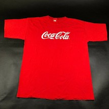 Everything Coca-Cola Tee T Shirt Mens L Red Cotton Logo Coke Pepsi Made ... - £10.18 GBP