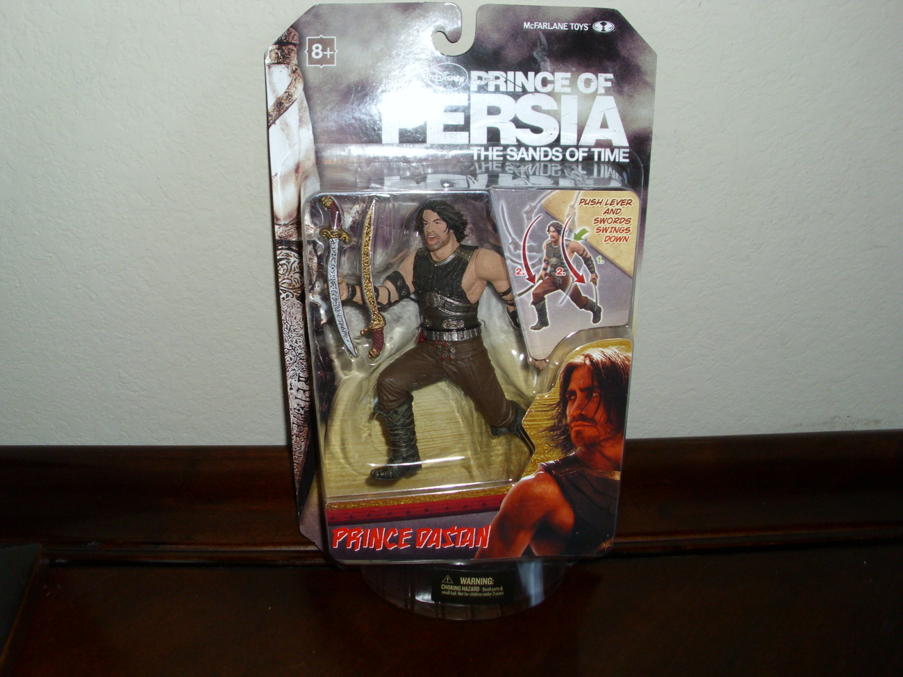 Prince of Persia Prince Dastan Warrior Figure NEW