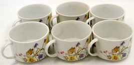Enesco Nature Garden Society Soup/Coffee Mugs Multicolor Set Of Six - $56.99