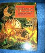 How to Make Christmas Tree Decorations Book - $7.50