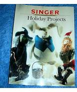 Holiday Projects Singer Sewing Reference Library  - $5.00