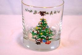 Spode 2013 Christmas Tree Double Old Fashion On The Rocks Glass - $6.29