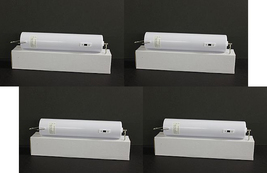Four (4) white indoor heavy duty 10lb 18 RPM battery powered wind spinner motors - $63.00