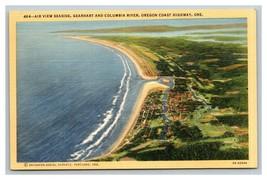 VINTAGE Curteich Linen Postcard - Gearhart & Columbia River Oregon Unused - $8.88
