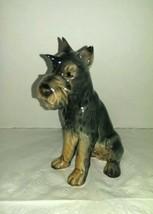 Schnauzer Dog Porcelain Figurine Vintage  GOEBEL W. Germany Excellent Co... - $39.99