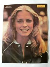 Cheryl Ladd Charlie's Angels 1980 Greek Mini Magazine Double Page Mini P... - $11.30