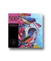 """Blue Birds Design Jigsaw Puzzle 500 pc 28"""" x 20"""" Complete Durable Fit Pieces"""