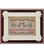 CLEARANCE Merry Christmas My Deer CHART + FABRI... - $12.00