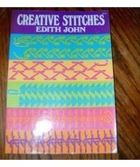 Creative Stitches by Edith John Dover Publications - $10.00