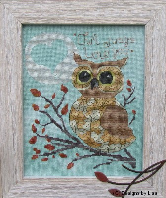 Primary image for Owl Always Love You cross stitch chart Designs by Lisa