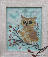 Owl Always Love You cross stitch chart Designs by Lisa - $7.20