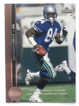 Joey Galloway 1996 Upper Deck #88 Seattle Seahawks NFL Football Card - $1.39