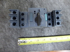 SIEMENS 0.4 Amp Circuit Breaker 3RV2711-0ED10 New  - $107.91