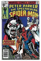 Bronze Age 1977 The Spectacular Spiderman Comic #7 Marvel Comics Morbius - $9.90