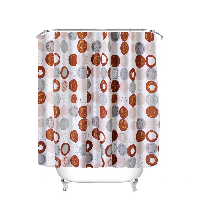 DARIS Sexy Waterproof Polyester Bathroom Shower Curtain Navy Girl The Water's Fi - $27.99