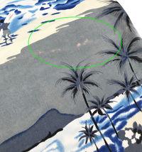 Men's Hawaiian Tropical Beach Party Button Up Casual Dress Shirt w/ Defect - XL image 5