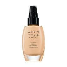 AVON True Colour Calming Effects Mattifying Foundation 30 ml-1 oz/ NUDE - $14.99