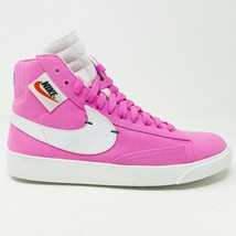 Nike Blazer Mix Rebel Psychic Pink Summit White Womens Size 9 BQ4022 602 - $134.95