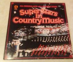"Country LP Various Artists Superstars en País Música On K-Tel 12"" Vinilo... - £11.13 GBP"
