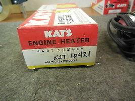 KAT'S K4T ENGINE HEATER FROST PLUG 400 WATTS 120 VOLTS 10421 image 3