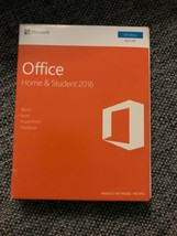 Microsoft Office 2016 Home and Student Windows English 1 User Key Card - $59.25