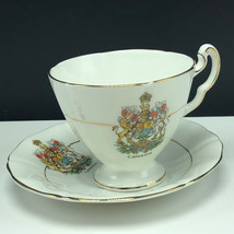 ROYAL ADDERLEY TEACUP Canada Ridgway pottery fine bone china England cup... - $23.76