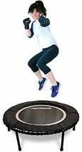Leaps & ReBounds: Rebounder - Fitness Trampoline - Full-Size Protective Mat - Mi - $385.82