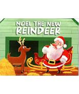 Noel The New Reindeer - Christmas Pop-Up Board Books [Pop-Up] The Clever... - £14.15 GBP