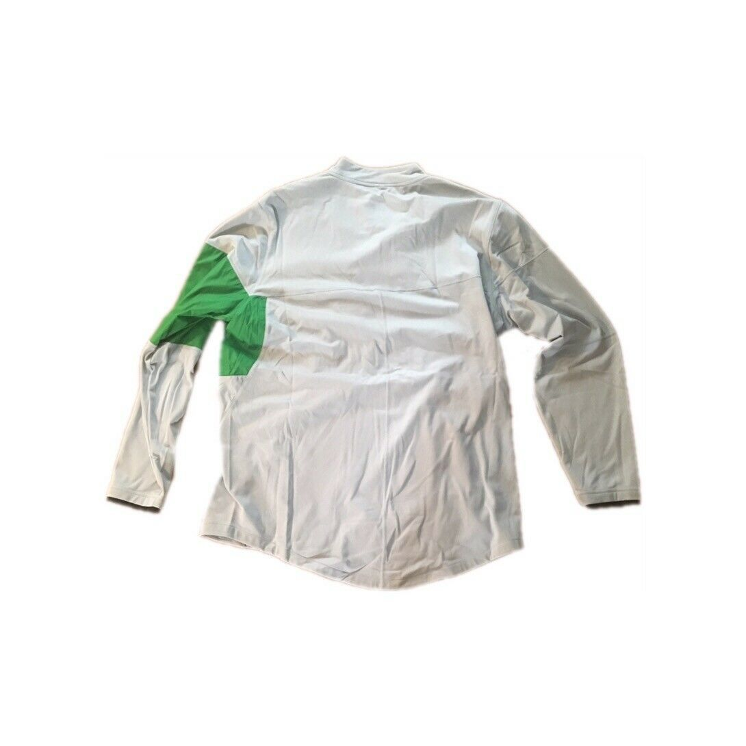NWT New Oregon Ducks Nike Men s 1 2 Zip Pullover Hybrid Jacket XL 485f38d42